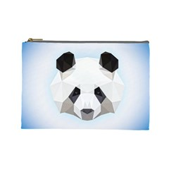 Background Show Graphic Art Panda Cosmetic Bag (large)