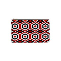 Motif Batik Design Decorative Cosmetic Bag (small)  by Nexatart