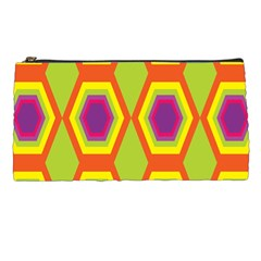 Geometric Retro Pattern Pencil Cases by goodart