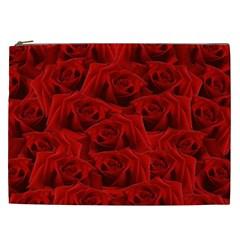 Romantic Red Rose Cosmetic Bag (xxl)  by LoolyElzayat