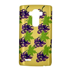 Grapes Background Sheet Leaves Lg G4 Hardshell Case by Sapixe