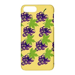 Grapes Background Sheet Leaves Apple Iphone 8 Plus Hardshell Case by Sapixe