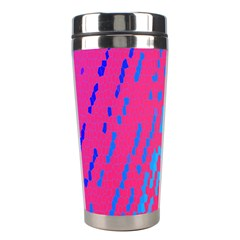 Background Desktop Mosaic Raspberry Stainless Steel Travel Tumblers by Sapixe