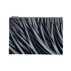 Fractal Mathematics Abstract Cosmetic Bag (large)  by Sapixe
