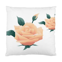 Rose Flower Nature Floral Summer Standard Cushion Case (one Side) by Sapixe