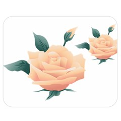 Rose Flower Nature Floral Summer Double Sided Flano Blanket (medium)  by Sapixe