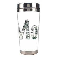 Word Money Million Dollar Stainless Steel Travel Tumblers by Sapixe