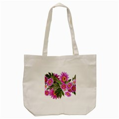 Daisies Flowers Arrangement Summer Tote Bag (cream) by Sapixe