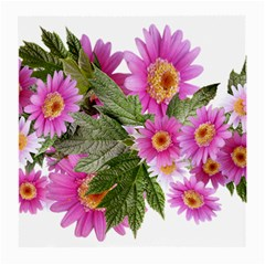Daisies Flowers Arrangement Summer Medium Glasses Cloth by Sapixe