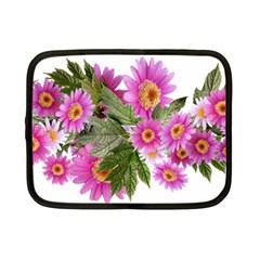 Daisies Flowers Arrangement Summer Netbook Case (small)  by Sapixe