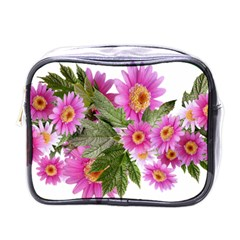 Daisies Flowers Arrangement Summer Mini Toiletries Bags by Sapixe