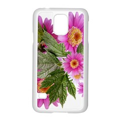 Daisies Flowers Arrangement Summer Samsung Galaxy S5 Case (white) by Sapixe