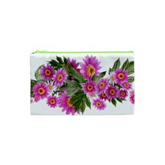 Daisies Flowers Arrangement Summer Cosmetic Bag (xs) by Sapixe
