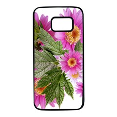 Daisies Flowers Arrangement Summer Samsung Galaxy S7 Black Seamless Case by Sapixe