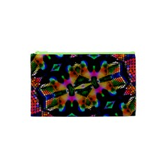 Butterfly Color Pop Art Cosmetic Bag (xs)