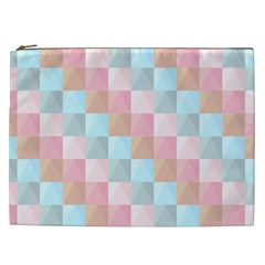 Abstract Pattern Background Pastel Cosmetic Bag (xxl)  by Nexatart