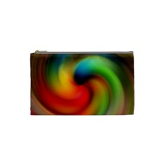 Abstract Spiral Art Creativity Cosmetic Bag (small)