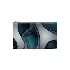 Abstract Background Abstraction Cosmetic Bag (small)  by Nexatart