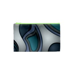 Abstract Background Abstraction Cosmetic Bag (xs) by Nexatart
