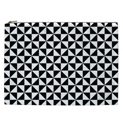 Triangle Pattern Simple Triangular Cosmetic Bag (xxl)