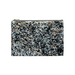 Granite Hard Rock Texture Cosmetic Bag (medium)
