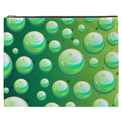 Background Colorful Abstract Circle Cosmetic Bag (xxxl)  by Nexatart