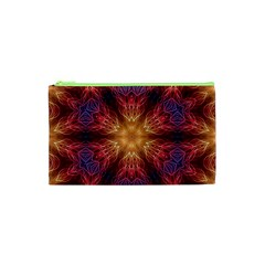 Fractal Abstract Artistic Cosmetic Bag (xs) by Nexatart