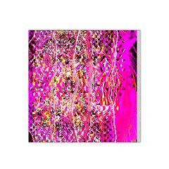 Hot Pink Mess Snakeskin Inspired  Satin Bandana Scarf by flipstylezdes