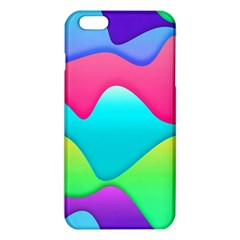Lines Curves Colors Geometric Lines Iphone 6 Plus/6s Plus Tpu Case by Nexatart