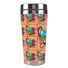 Music Stainless Steel Travel Tumblers by ArtworkByPatrick1