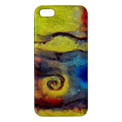 Painted Swirls                              Samsung Galaxy Note 3 Leather Folio Case by LalyLauraFLM