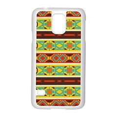 Ovals Rhombus And Squares                                    Motorola Moto G (1st Generation) Hardshell Case by LalyLauraFLM