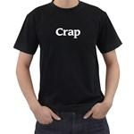Crap Men s Black T-Shirt