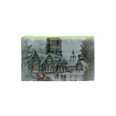 Santa Claus 1845749 1920 Cosmetic Bag (xs) by vintage2030