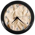 Paper 2385243 960 720 Wall Clock (Black)