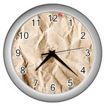 Paper 2385243 960 720 Wall Clock (Silver)