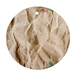 Paper 2385243 960 720 Round Ornament (Two Sides)