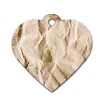 Paper 2385243 960 720 Dog Tag Heart (One Side)