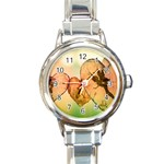 Elves 2769599 960 720 Round Italian Charm Watch
