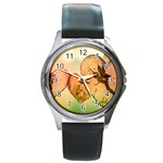 Elves 2769599 960 720 Round Metal Watch
