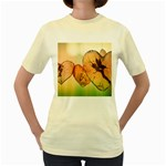Elves 2769599 960 720 Women s Yellow T-Shirt
