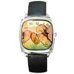 Elves 2769599 960 720 Square Metal Watch