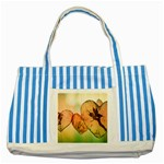 Elves 2769599 960 720 Striped Blue Tote Bag