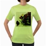 Roses 1802790 960 720 Women s Green T-Shirt