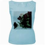 Roses 1802790 960 720 Women s Baby Blue Tank Top