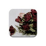 Roses 1802790 960 720 Rubber Square Coaster (4 pack)
