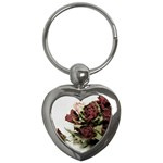 Roses 1802790 960 720 Key Chains (Heart)