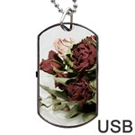 Roses 1802790 960 720 Dog Tag USB Flash (Two Sides)