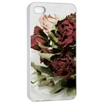 Roses 1802790 960 720 Apple iPhone 4/4s Seamless Case (White)