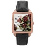 Roses 1802790 960 720 Rose Gold Leather Watch